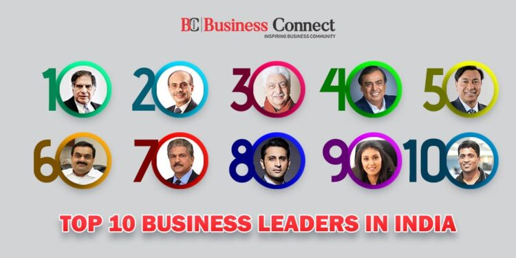 Top 10 business leaders in India 2021