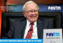 Berkshire Hathaway giving huge 'Buff-et' to Paytm