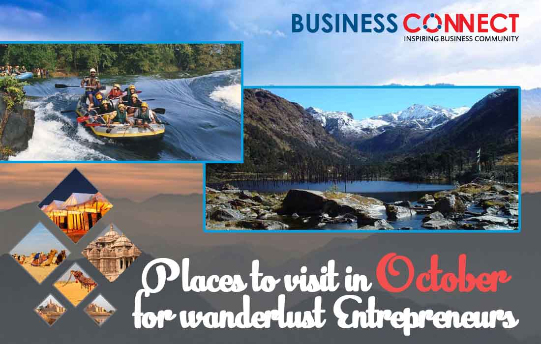 Places to visit in October for wanderlust Entrepreneurs_Business Connect