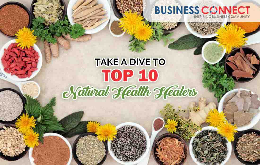 Top 10 Natural Health Healers