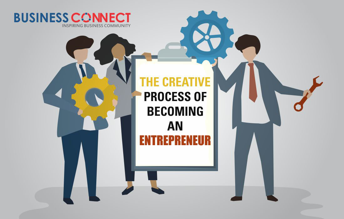The Creative Process of Becoming An Entrepreneur