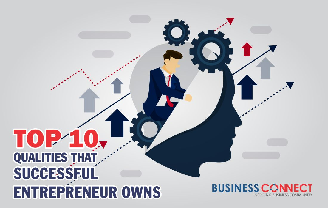 Top 10 Qualities that Successful Entrepreneur Owns