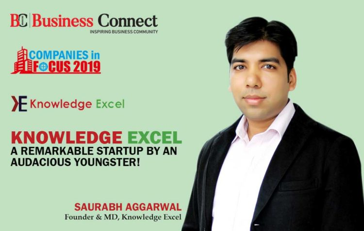 Knowledge Excel, A remarkable startup by an audacious Youngster - Business Connect