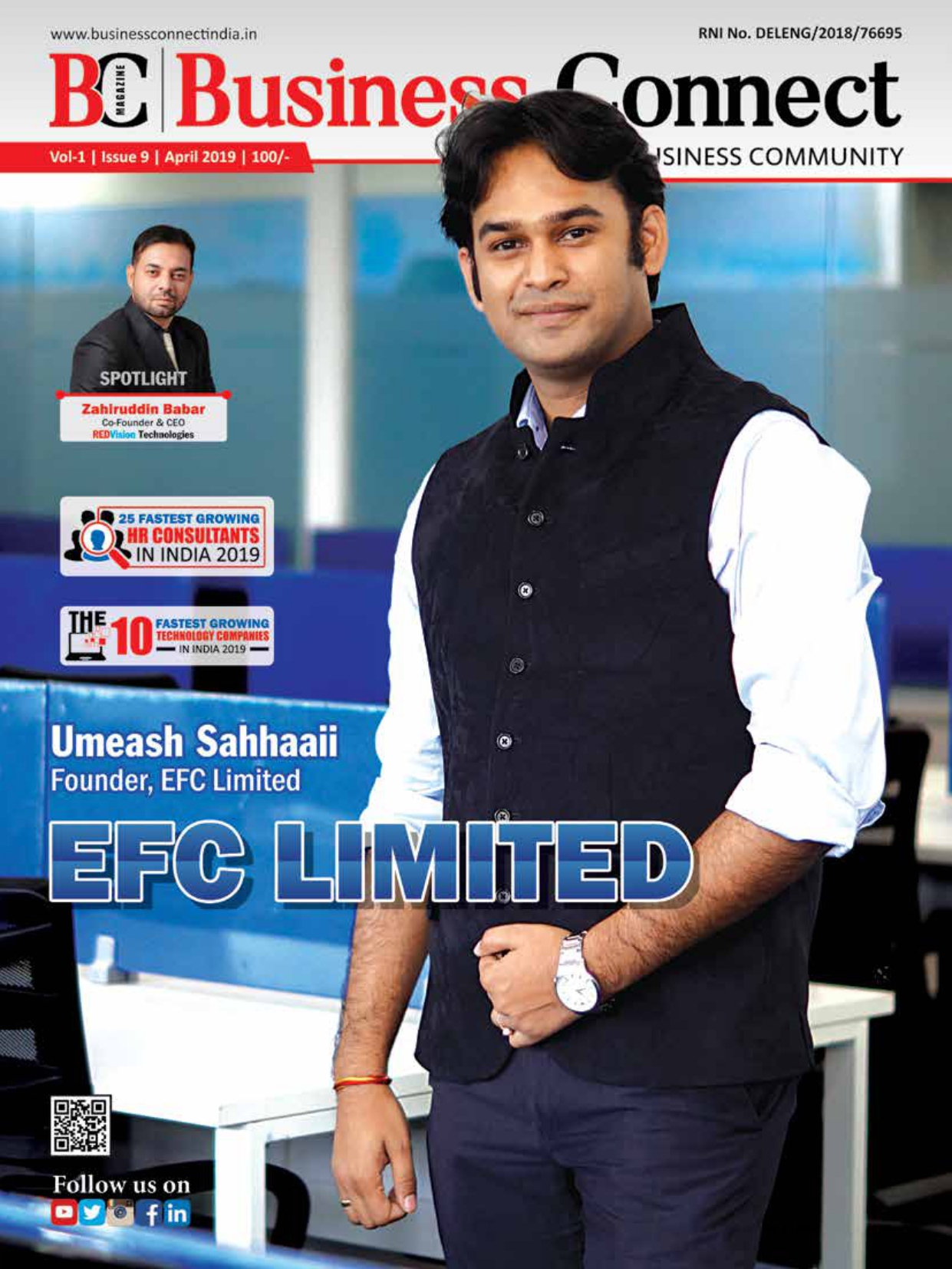 Fastest Growing IT Services & HR Consultants In India Magazine