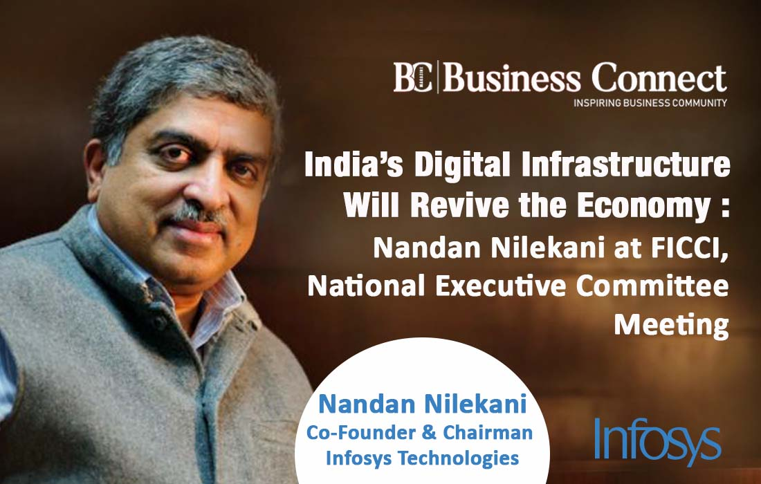 Nandan Nilekani at FICCI, National Executive Committee Meeting