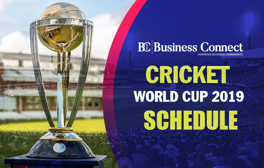 Cricket World Cup 2019 India Schedule