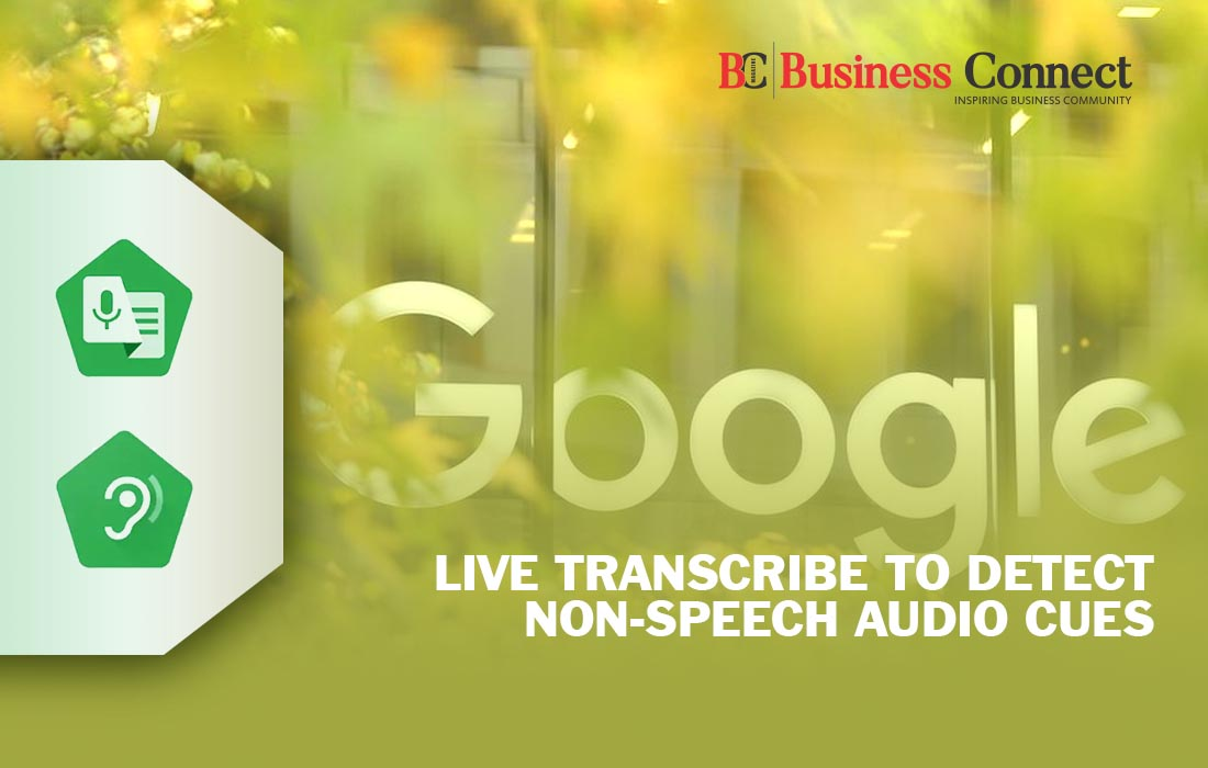 Google Live Transcribe to Detect Non-Speech Audio Cues