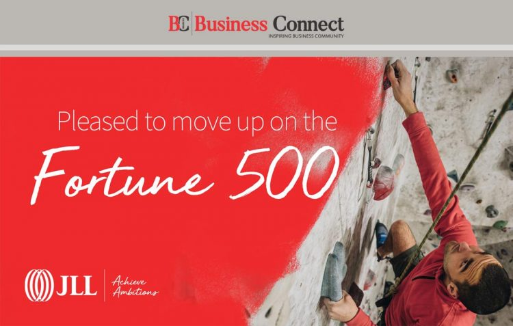 JLL leaps up Fortune 500