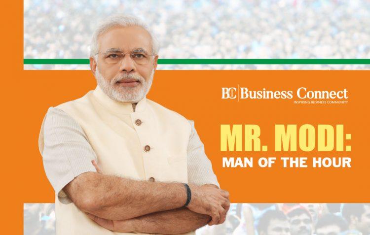 Mr Modi, Man of the Hour