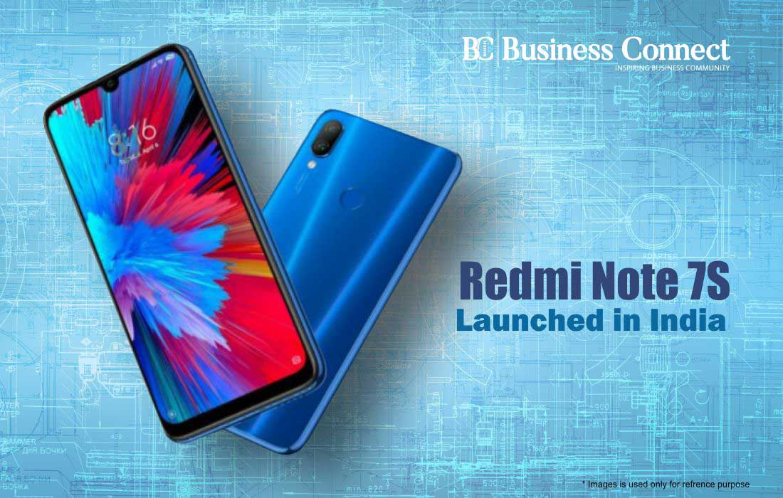 Redmi Note 7S Launched in India