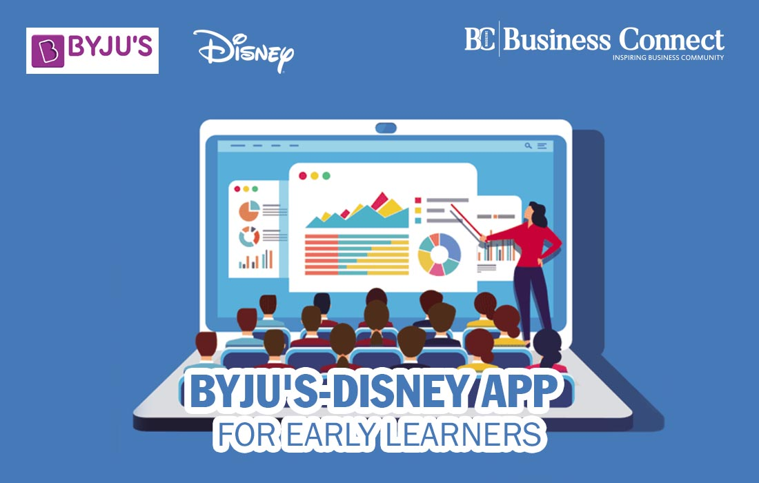 Byjus-Disney App for Early Learners , Business Magazine