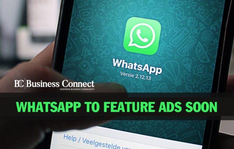 Whatsapp to add Ads soon