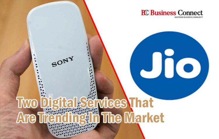 Sony and JIO Launch new Product- Business Connect
