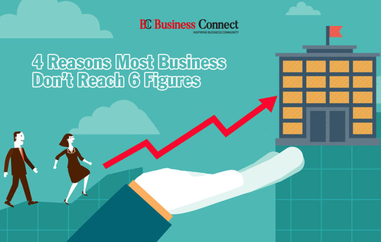 What Reasons Most Business Don't Reach 6 Figures?- Business Connect