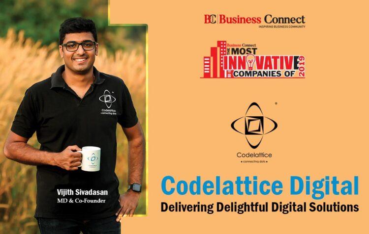 Codelattice Digital Solutions- Most Innovative Company