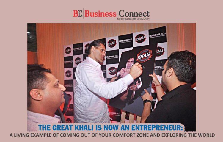 The Great Khali Is Now An Entrepreneur