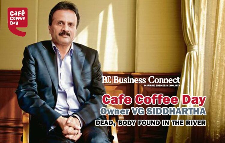 VG Siddhartha dead-Business Connect