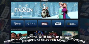 Disney+ lock horns with Netflix by introducing services at $6.99 Per Month