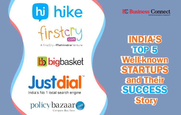 India's top 5 startups and their success story-Business connect