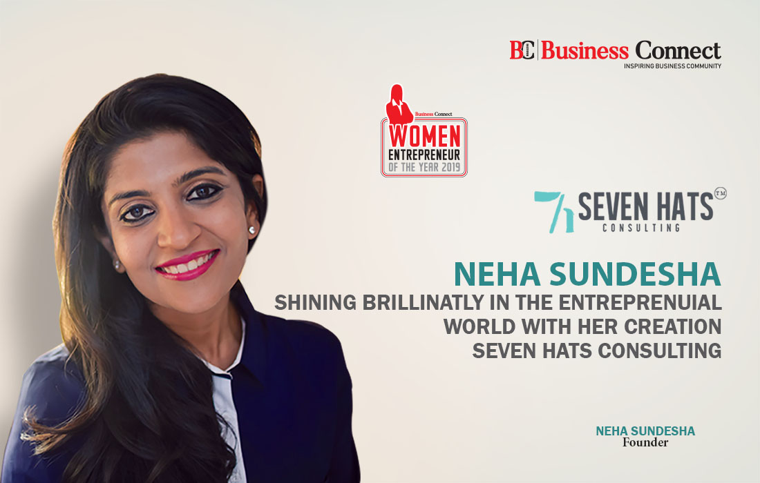 Seven hats consulting-Neha Sundesha-Women Entrepreneur of the Year 2019