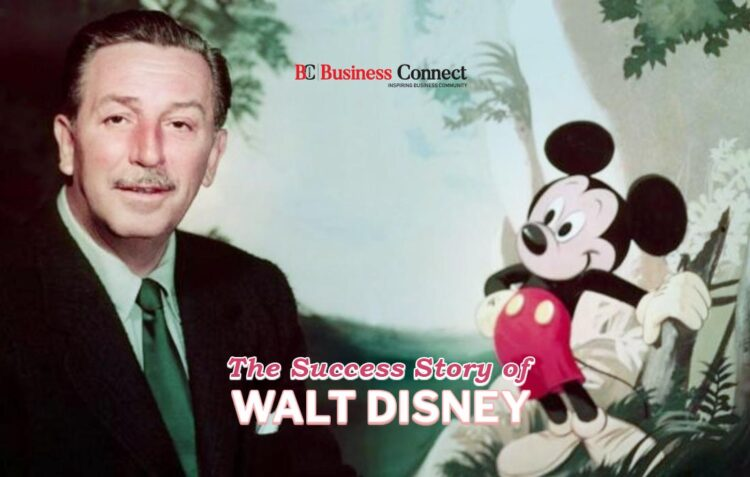 The Success Story of Walt Disney- Business Connect
