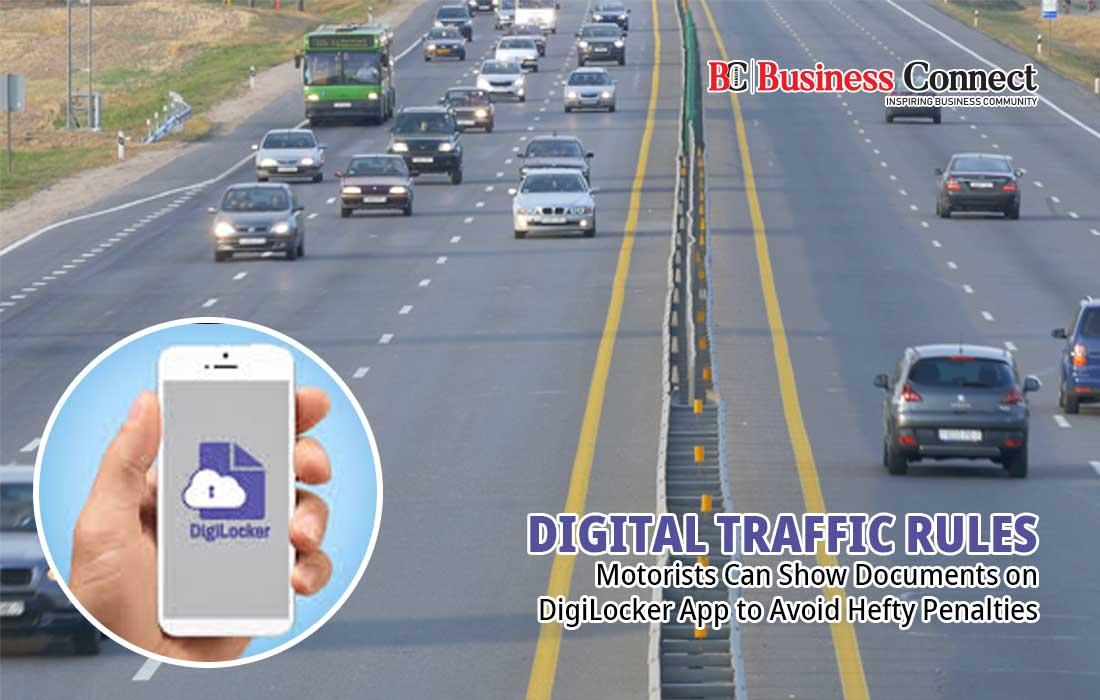 DigiLocker or mParivahan app-Business Connect