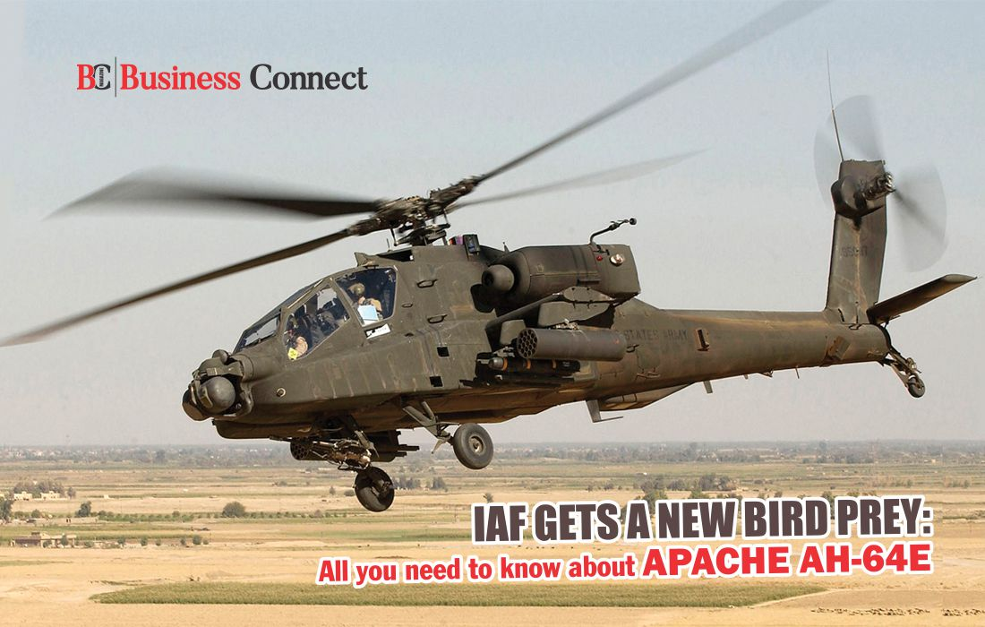 IAF Gets Apache AH-64E Helicopter - Business Connect