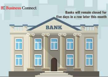 Banks will remain closed for five days - Business Connect