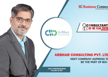 ArBhar Consulting-Consultant of the year   Business Connect