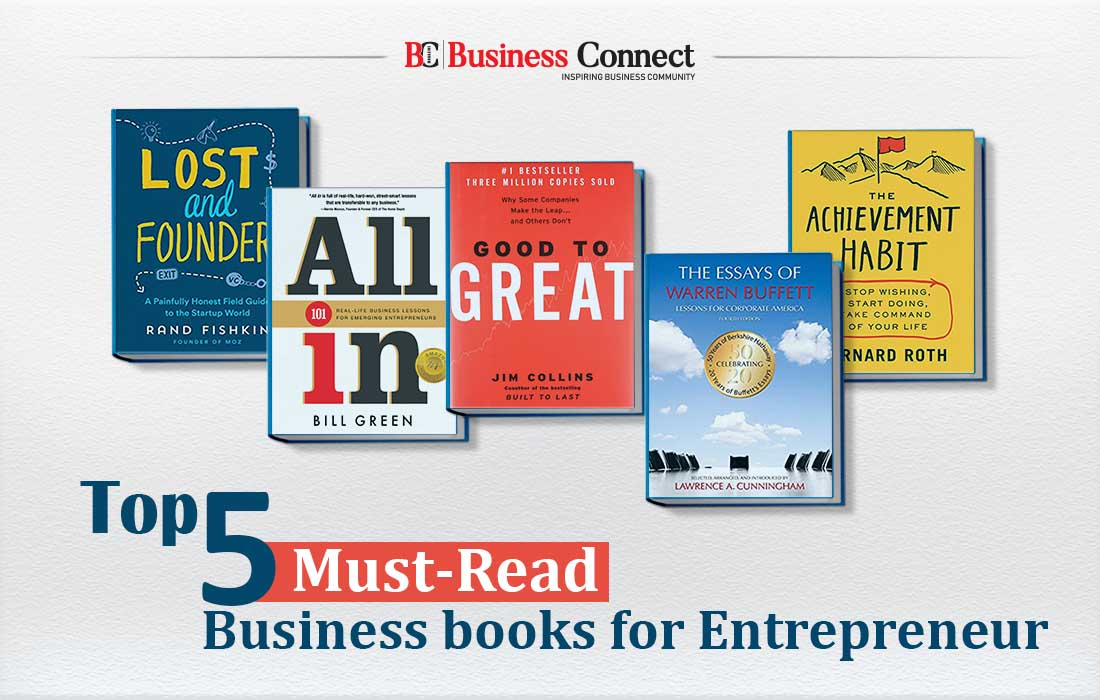 Top 5 Must-Read Business books for Entrepreneur- Business Connect