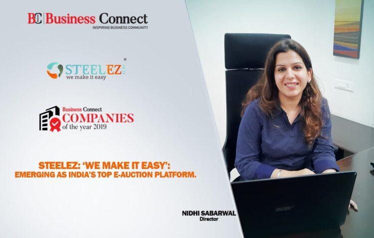 Steelez-India's Top E-Auction Platform   Business Connect