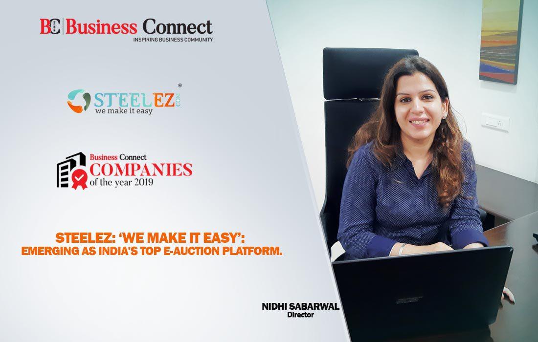 Steelez-India's Top E-Auction Platform | Business Connect