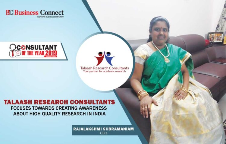 TALAASH RESEARCH CONSULTANTS   Business Connect