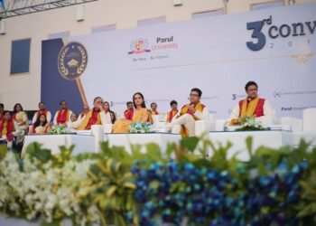 Padma Shri.Anil Kumble and Former Miss World Manushi Chhilar graced the 3rd Annual Convocation of Parul University | Business Connect