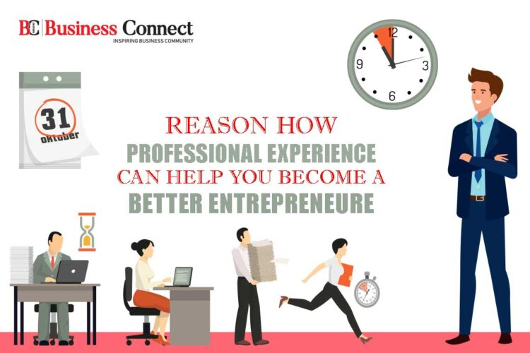 How Professional Experience Can Help You Become A Better Entrepreneur?   Business Connect