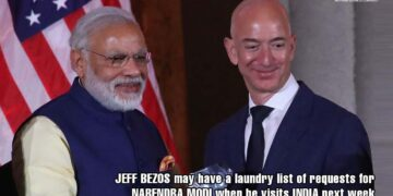 Jeff Bezos may have a laundry list of requests for Narendra Modi when he visits India next week
