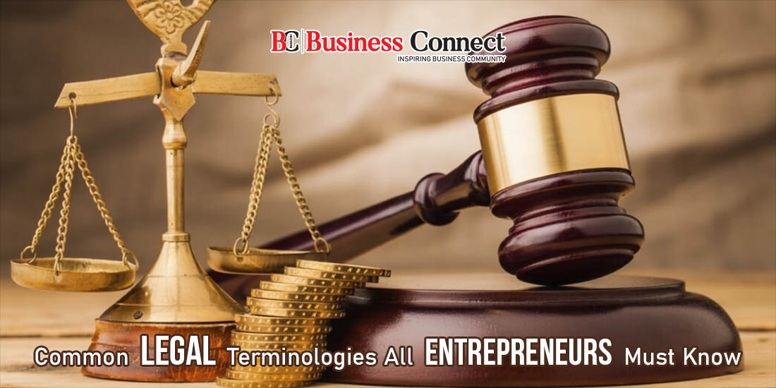 Legal Terminology Entrepreneur Must Know | Business connect
