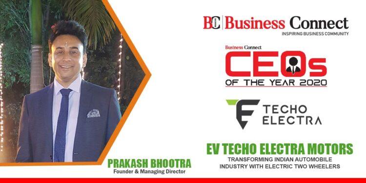 EV TECHO ELECTRA MOTORS   Business Connect