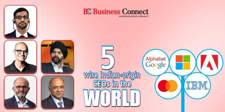 5 wise Indian-origin CEOs in the world   Business Connect