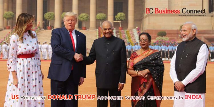 US President Donald Trump   Business Connect
