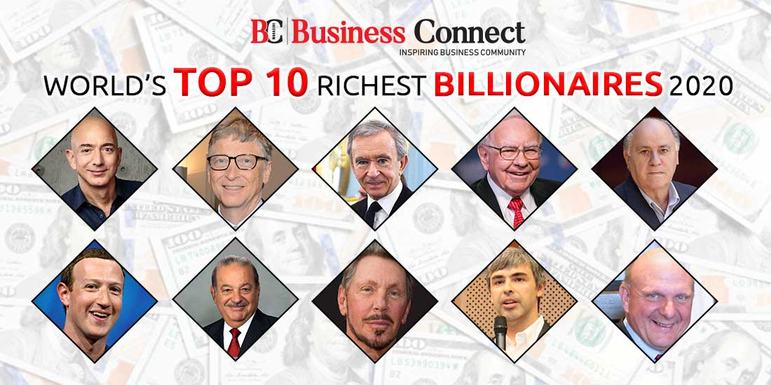 World's Top 10 Richest Billionaires 2020 | Business Connect
