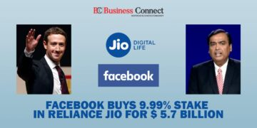 Facebook buys 9.99% stake in Reliance Jio For $ 5.7 billion