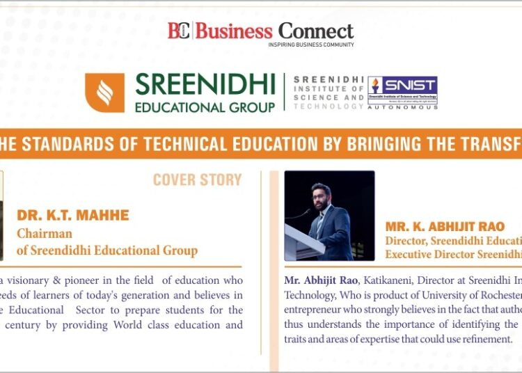 Sreenidhi Institute of Science and Technology_Business Connect Magazine