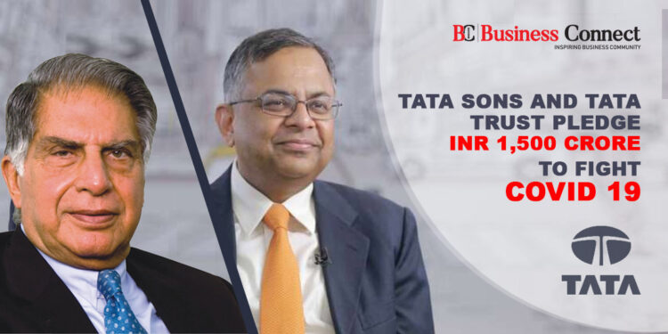 Tata Sons and Tata Trust Pledge INR 1,500 crore To Fight COVID 19 | Business Connect