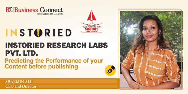 Instoried Research Labs Pvt Ltd_Business Connect Magazine