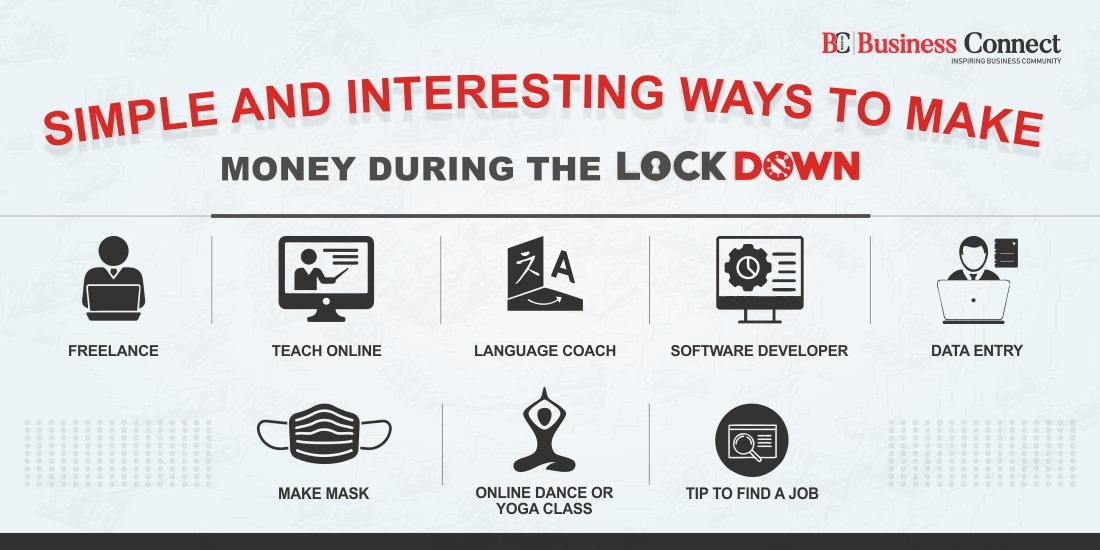 Simple and interesting Ways to make money during the lockdown_Business Connect Magazine