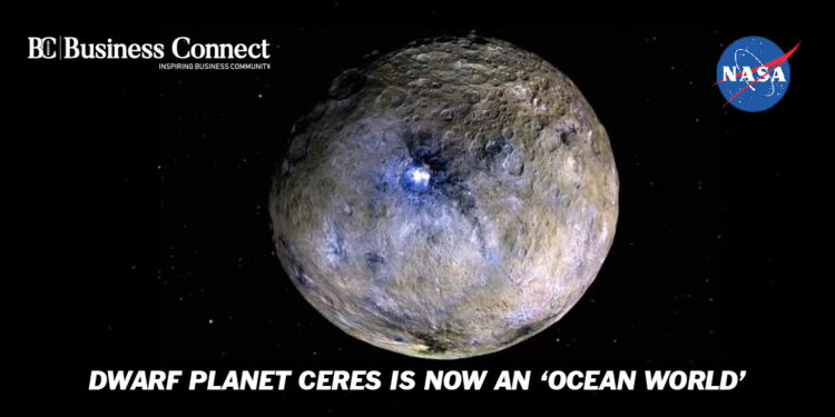 Dwarf Planet Ceres is now an 'Ocean World' - Business Connect