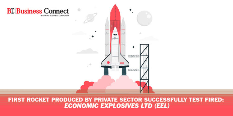 First Rocket Produced by Private Sector Successfully Test Fired - Business Connect