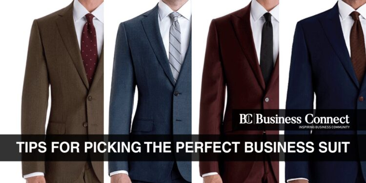 Tips for Picking the Perfect Business Suit - Business Connect