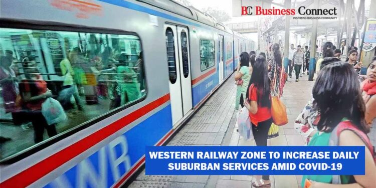 Western Railway Zone to Increase Daily Suburban Services amid COVID-19